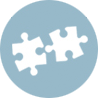 Icon Depicting Piecing Together Recovery