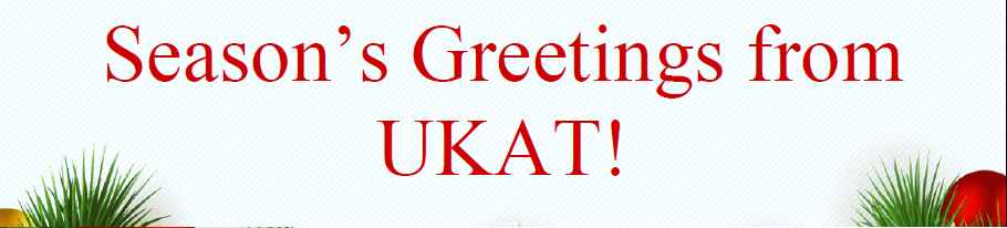 seasons greetings from ukat