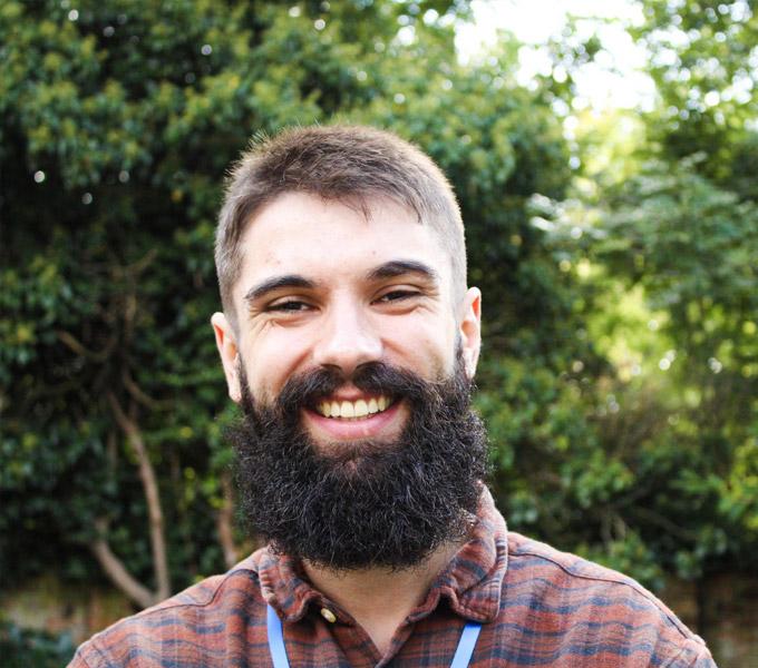 An Alumni Member Smiling