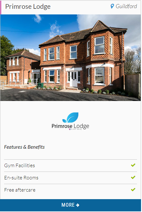 Primrose Lodge - Bupa provider