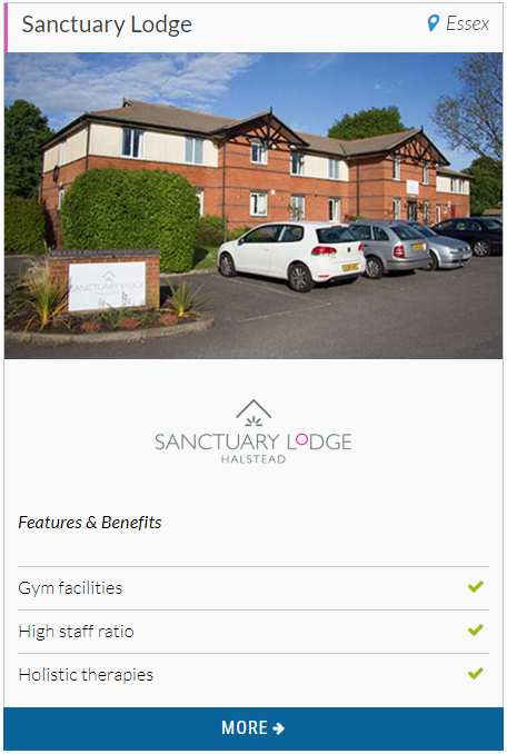 Sanctuary Lodge - Bupa provider