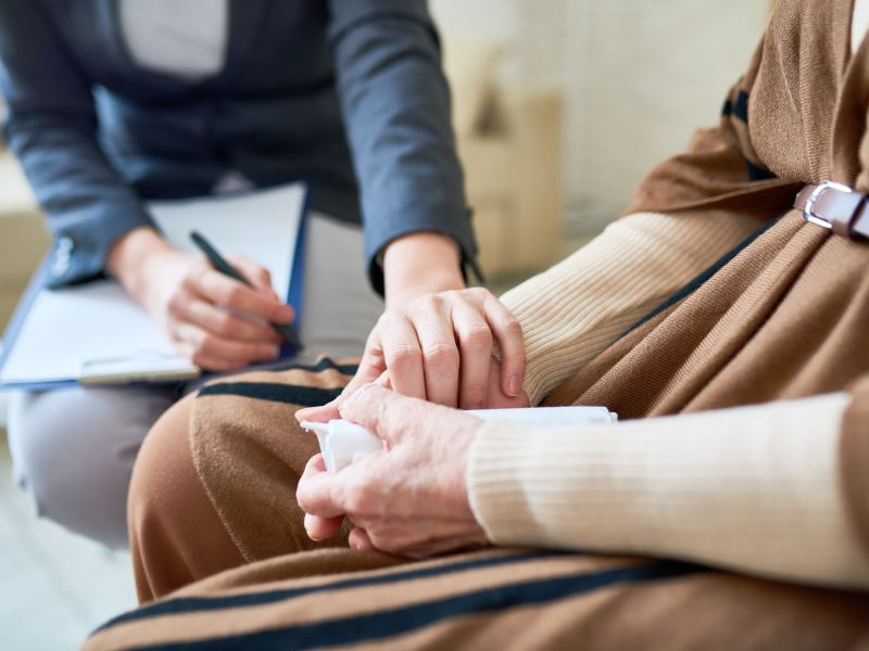 support through inpatient therapy