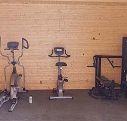 Gym At Sanctuary Lodge