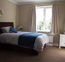 Sanctuary Lodge Bedroom